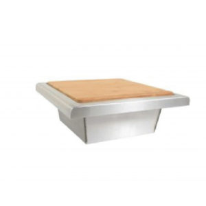 BLAZE 15 INCH TRASH CHUTE WITH CUTTING BOARD